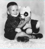 Anthony Kalberg with Teddy Bear